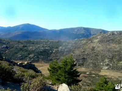 Macizo Cabeza Arcón,El Pendón;senderismo único rutas de montaña por madrid  principiantes madrid